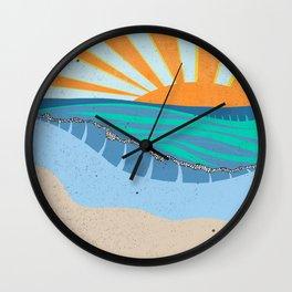 Sunrise IX Wall Clock