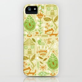 Nature-pattern iPhone Case