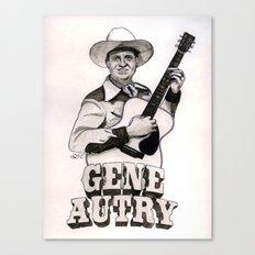 Gene Autry Canvas Print