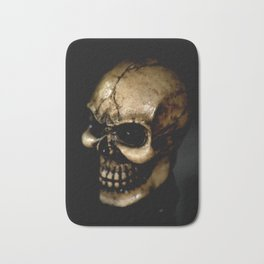 Antiqued Skul Bath Mat