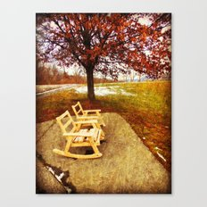 Come Sit, Stay Awhile... Canvas Print