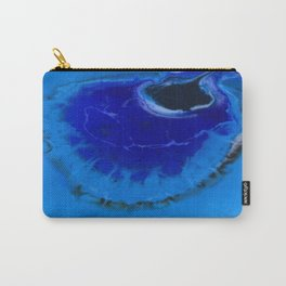 The Infinite Blue Carry-All Pouch