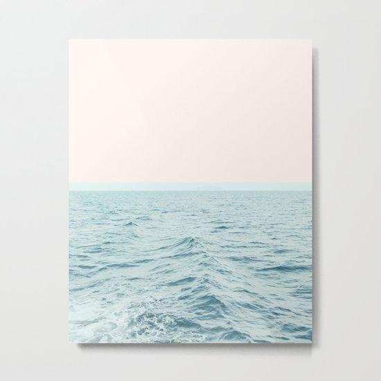Sea Breeze #society6 #decor #style #tech Metal Print
