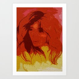 DAUGHTER OF EVE Art Print