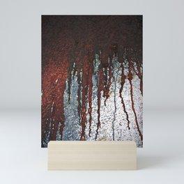 Bloody Rust Drips Mini Art Print