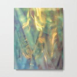 Sunlight in the Emerald Sea Metal Print