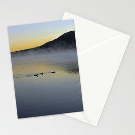 Serene Morning on Lake George Stationery Cards