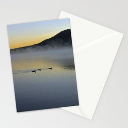 Serene Morning on Lake George Stationery Cards