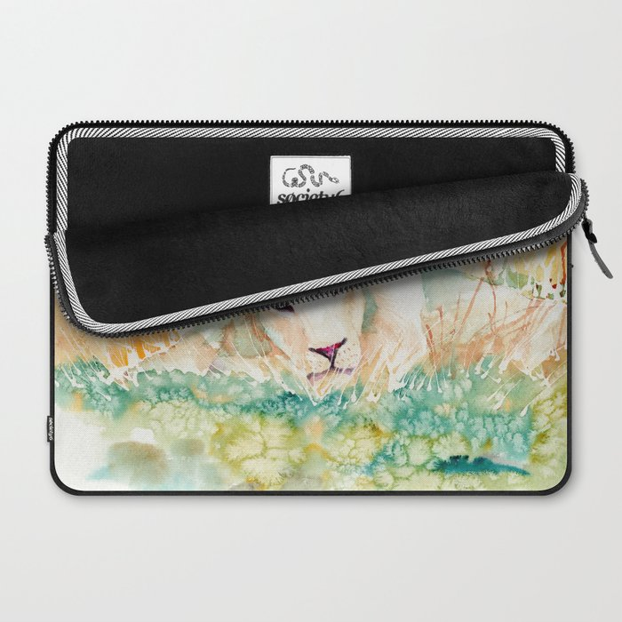 blue eyes Laptop Sleeve