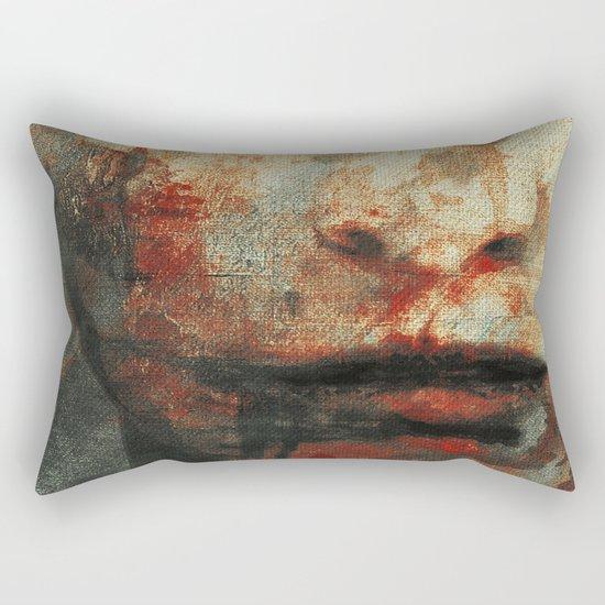 The Human Race 3 Rectangular Pillow