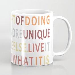 Live your talents Coffee Mug