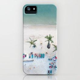 Aerial Koh Phangan Beach iPhone Case