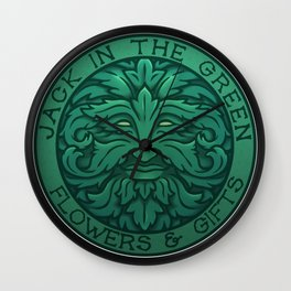 The Jack in the Green Wall Clock