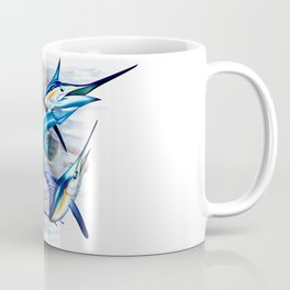 Canyon Masters Billfish Skull Design Coffee Mug