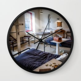 Victorian Ward Wall Clock
