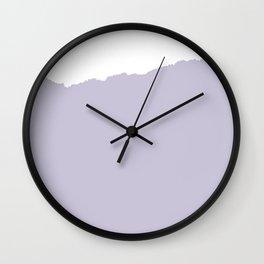 Lavender landscape Wall Clock