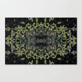 The Code Canvas Print
