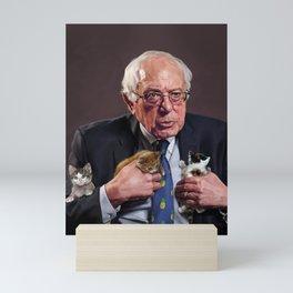 Bernie and Kittens Mini Art Print