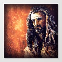 thorin Canvas Prints featuring Thorin by Shagliy