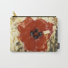 Impressionist Poppy Carry-All Pouch
