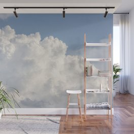 Puffy Clouds Skyscape | Heavenly Sky Wall Mural