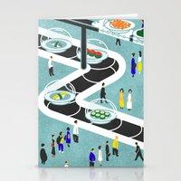 sushi Stationery Cards featuring Sushi by Alexey Khamkin