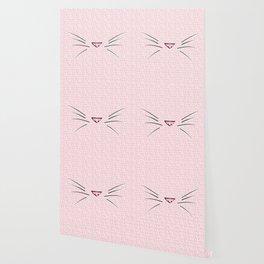 Crazy Cat Lady (Meow Meow Meow Pattern) Wallpaper