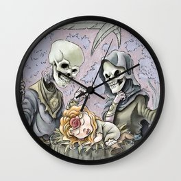 What Have We Here Wall Clock