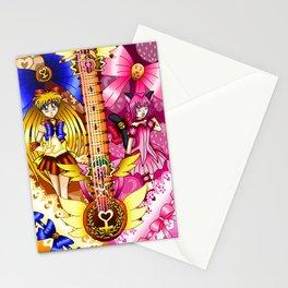 Sailor Mew Guitar #22 - Sailor Venus & Mew Ichigo Stationery Cards