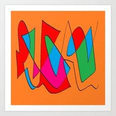 Abstract 21n Art Print