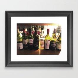 Wine Tasting Framed Art Print