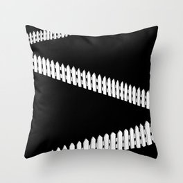 fences Throw Pillow