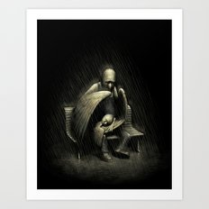 Two Wings and a Prayer Art Print