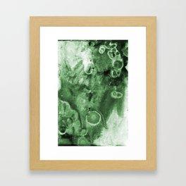 Green Poison Framed Art Print