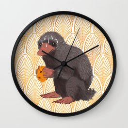 Fantastic Beasts and where to find them cookies Wall Clock