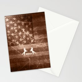 Vintage Rodeo Rustic Stationery Cards