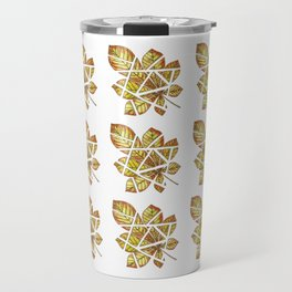Chestnut leaf Travel Mug
