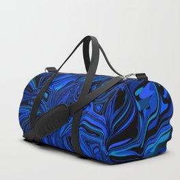 spiral complexity, blue Duffle Bag