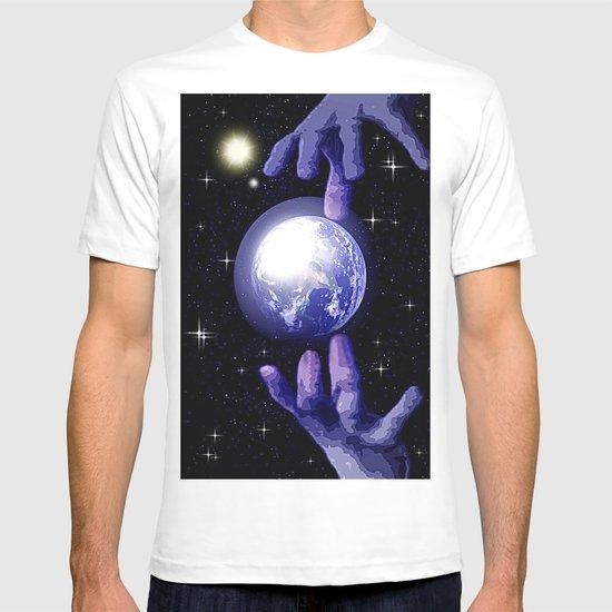 In good hands. T-shirt