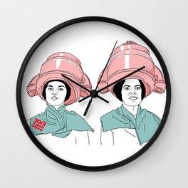 Hair odyssey #girls #hair #beauty Wall Clock
