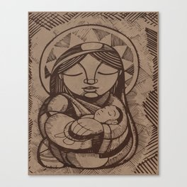 Mary Mother Canvas Print