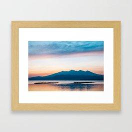 Sunrise in Bali Framed Art Print
