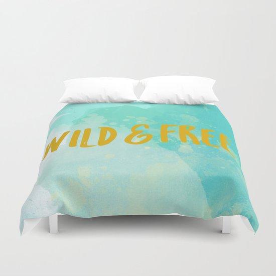 Wild & Free Duvet Cover
