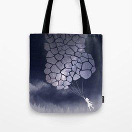giraffe balloon dreams Tote Bag