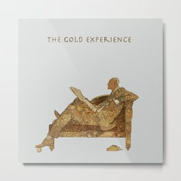 THE GOLD EXPERIENCE Metal Print