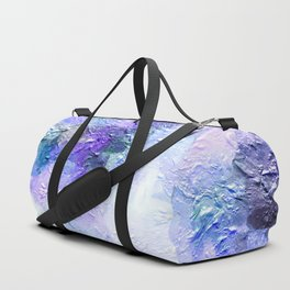 Lovely Lanvendar Pastel Textured Abstract Art Duffle Bag