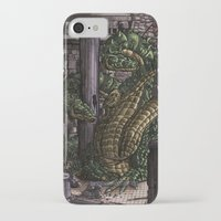 hydra iPhone & iPod Cases featuring Hydra  by Joseph Stansbury Illustration