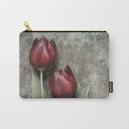 Red Tulips II Carry-All Pouch
