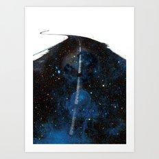 Galaxy Road Art Print