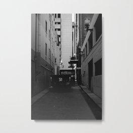 BACKSTREET Metal Print
